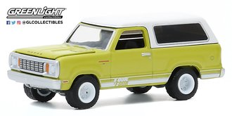 1:64 All-Terrain Series 10 - 1977 Dodge Macho Ramcharger 4x4 with Four By Four Stripe Kit