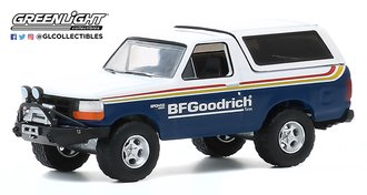 """1:64 All-Terrain Series 10 - 1992 Ford Bronco with Off-Road Parts """"BFGoodrich Tires"""""""