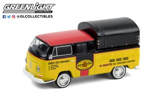 """1:64 Blue Collar Collection Series 8 - 1968 Volkswagen Doka with Canopy """"Pennzoil Oil Shop"""""""