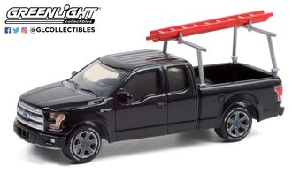 1:64 Blue Collar Collection Series 9 - 2017 Ford F-150 w/Ladder Rack