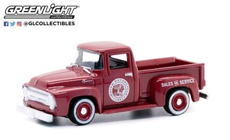 """1:64 Blue Collar Collection Series 10 - 1954 Ford F-100 """"Indian Motorcycle Sales & Service"""""""