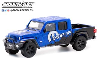 """1:64 Blue Collar Collection Series - 2021 Jeep Gladiator w/Off-Road Bumpers & Tonneau Cover """"MOPAR"""""""