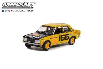 "1:64 1973 Datsun 510 4-Door Sedan - #166 Brock Racing Enterprises (BRE) ""Mexican 1000 Rally"""
