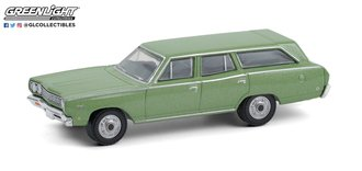 1:64 Estate Wagons Series 6 - 1968 Plymouth Satellite Station Wagon (Sea Mist Green)