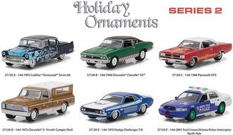 1:64 Holiday Ornaments Series 2 (Set of 6)