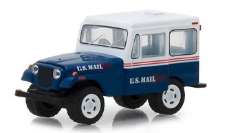 "1:64 Norman Rockwell Series 1 - 1971 Jeep DJ-5 ""U.S. Mail"""