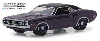 """1:64 Mecum Auctions Collector Cars 3 - 1971 Dodge HEMI Challenger R/T (Plum Crazy) """"Houston 2018"""""""