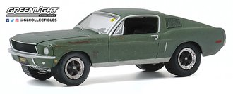 1:64 Mecum Auctions Collector Cars Series 5 - 1968 Ford Mustang GT 'Bullitt' (Kissimmee 2020)