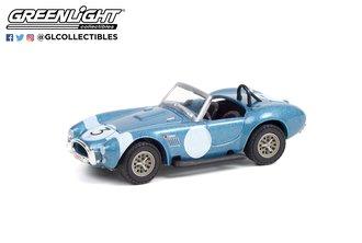 1:64 1964 Shelby Cobra #3 FIA Bondurant Tribute (Lot #1321.1) - Viking Blue w/Black Interior