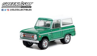 "1:64 1995 Ford Bronco ""Eddie Bauer Edition"" (Black/Tan w/Tan Interior) (Lot #731)"