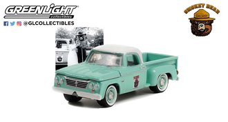 """1:64 Smokey Bear Series 1 - 1965 Dodge D-100 """"PLEASE! Only You Can Prevent Forest Fires"""""""