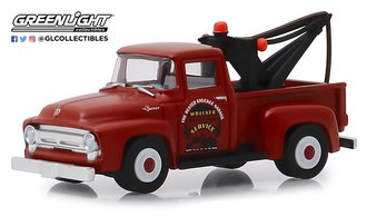 "1:64 Busted Knuckle Garage Series 1 - 1956 Ford F-100 Tow Truck ""Busted Knuckle Garage"""
