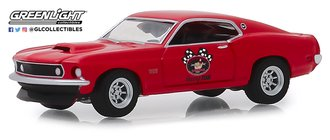 "1:64 Busted Knuckle Garage Series 1 - 1969 Ford Mustang Boss 429 ""Stock Car Racing"""