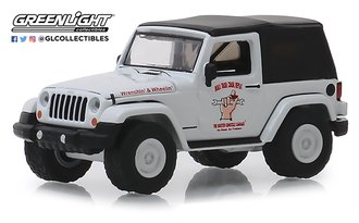 "1:64 Busted Knuckle Garage Series 1 - 2012 Jeep Wrangler ""Off Road Adventures"""