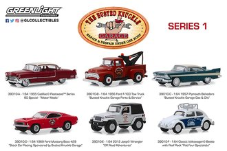1:64 Busted Knuckle Garage Series 1 (Set of 6)