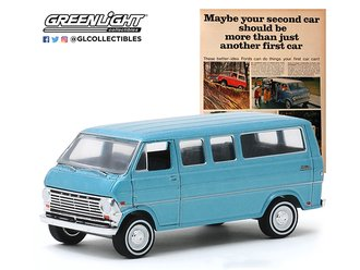 """1:64 1968 Ford Club Wagon """"Maybe Your Second Car Should Be More Than Just Another First Car"""""""