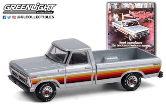 """1:64 Vintage Ad Cars Series 4 - 1977 Ford F-150 """"Ford Introduces The Trickest Trucks In Town"""""""