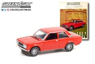 "1:64 Vintage Ad Cars Series 5 - 1972 Datsun 510 ""Under Our Sedan Body Lurks A Secret Sports Car"""