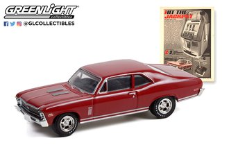 "1:64 Vintage Ad Cars Series 6 - 1970 Chevrolet Nova ""Hit The Jackpot. The Hurst Jackpot!"""