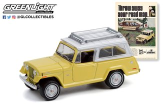 """1:64 Vintage Ad Cars Series 6 - 1970 Jeepster Commando """"Throw Away Your Road Map"""""""