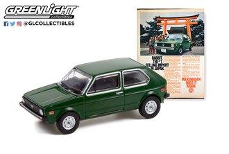 "1:64 Vintage Ad Cars Series 6 - 1977 Volkswagen Rabbit ""The #1 Selling Import In Japan"""