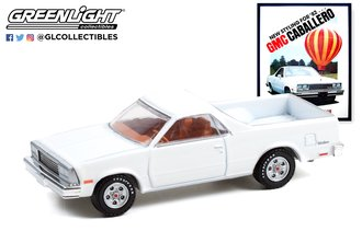 """1:64 Vintage Ad Cars Series 6 - 1982 GMC Caballero """"New Styling For '82...Quality Built For Value"""""""