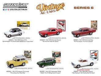 1:64 Vintage Ad Cars Series 6 (Set of 6)
