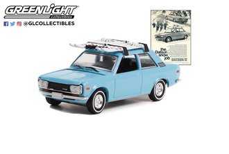 "1:64 1970 Datsun 510 w/Ski Roof Rack ""The Datsun Snow Job"""