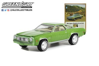"""1:64 1973 Chevrolet Chevelle Laguna Colonnade Hardtop Coupe """"New Laguna. Chevelle At Its Very Best"""""""