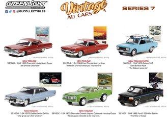 1:64 Vintage Ad Cars Series 7 (Set of 6)