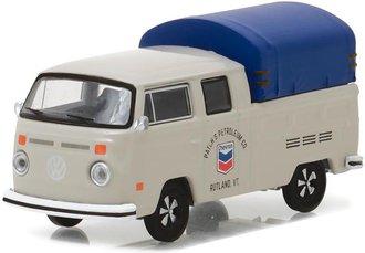 "1:64 Running on Empty Series 2 - 1974 Volkswagen Double Cab Pickup w/Canopy ""Chevron"""