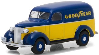 "1:64 1939 Chevrolet Panel Truck ""Goodyear Tires"""
