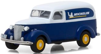 """1:64 Running on Empty Series 5 - 1939 Chevy Panel Truck """"Michelin Tires"""""""