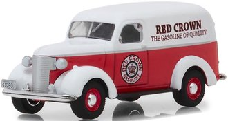 "1:64 Running on Empty Series 6 - 1939 Chevrolet Panel Truck ""Red Crown Gasoline"""