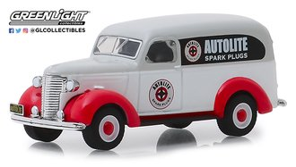"1:64 Running on Empty Series 8 - 1939 Chevrolet Panel Truck ""Autolite Spark Plugs"""