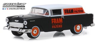 "1:64 Running on Empty Series 8 - 1955 Chevrolet One Fifty Sedan Delivery ""FRAM Oil Filters"""