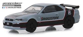 "1:64 Running on Empty Series 8 - 2001 Nissan Skyline GT-R (BNR34) ""Bridgestone Racing"""