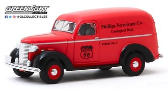 "1:64 1939 Chevrolet Panel Truck ""Phillips 66 Petroleum Co. Geological Dept."""