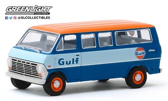 "1:64 1968 Ford Club Wagon ""Gulf Oil"""
