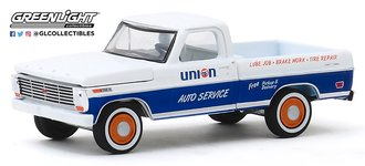 "1:64 1968 Ford F-100 ""Union 76 Auto Service"" (Grey)"