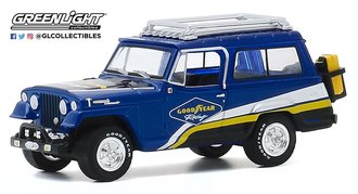 "1:64 Running on Empty Series 11 - 1967 Jeep Jeepster Commando Off-Road ""Goodyear Racing"""