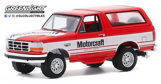"""1:64 Running on Empty Series 11 - 1994 Ford Bronco """"Ford Motorcraft"""""""
