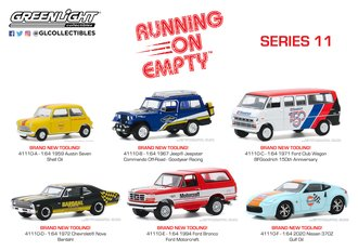 1:64 Running on Empty Series 11 (Set of 6)
