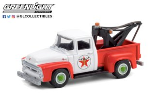 """1:64 Running on Empty Series 12 - 1956 Ford F-100 Tow Truck """"Texaco Filling Station"""""""