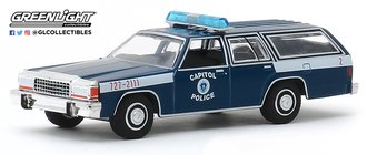 "1:64 Hot Pursuit Series 33 - 1983 Ford LTD Station Wagon ""United States Capitol Police"""