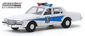 "1:64 Hot Pursuit Series 33 - 1986 Chevrolet Caprice ""Indiana State Police"""
