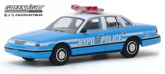"1:64 Hot Pursuit Series 33 - 1993 Ford CV Police Interceptor ""New York City Police Dept (NYPD)"""