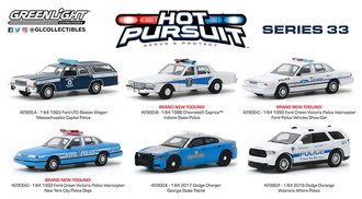 1:64 Hot Pursuit Series 33 (Set of 6)