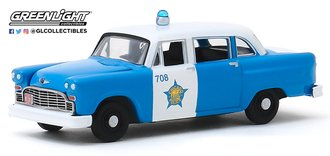 "1:64 Hot Pursuit Series 34 - 1961 Checker Marathon ""City of Chicago Police Department"""