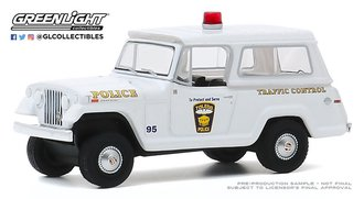 "1:64 Hot Pursuit Series 35 - 1969 Kaiser Jeep Jeepster ""Toledo, OH Police"""
